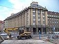 Dejvice, Evropská, rekonstrukce vozovky a generální štáb.jpg