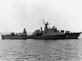 Koni-class frigate - Image: Del'fin 1982 2