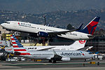 Delta Air Lines Boeing 737 at LAX (22747747130).jpg