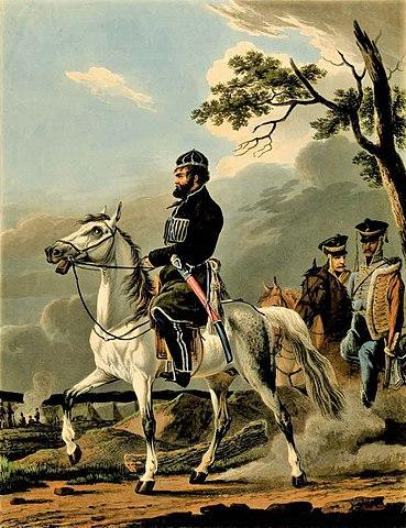 Денис Давыдов, 1814 год.