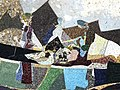 Detail 2, Wand Mosaik, Kennen und Erkennen, 1955–60, Universität Basel, Schweiz. Von Coghuf, Ernst Stocker (1905–1976) Künstler.jpg