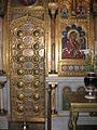Detaliu din catapeteasma Manastirii Argesului.jpg