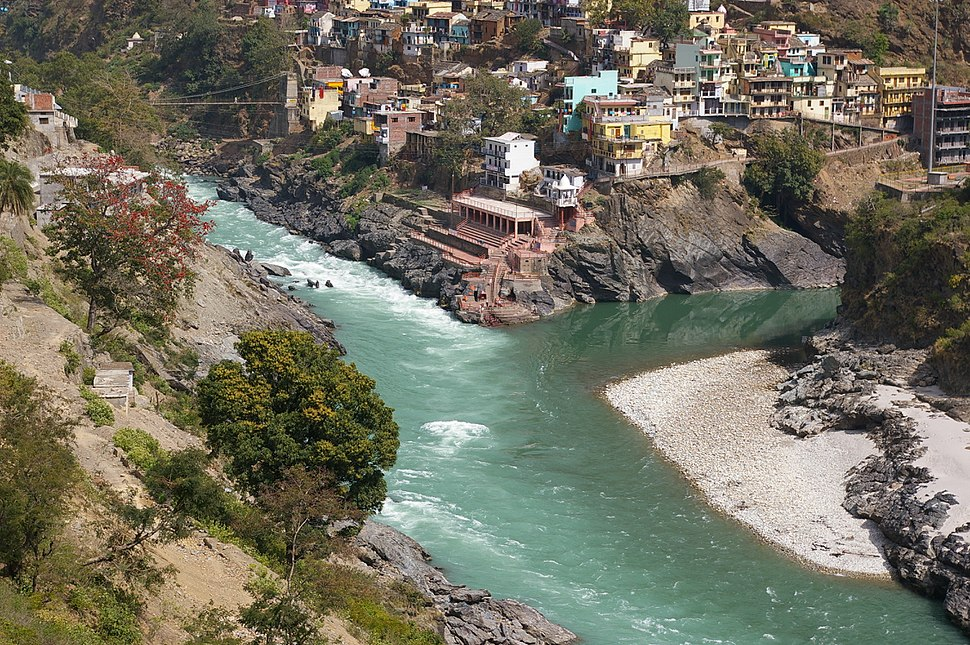 Devprayag - Confluence of Bhagirathi and Alaknanda
