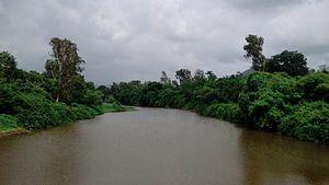 Dharampur, India - Dhamni River