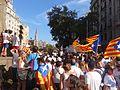 Diada 2016 - Plaça de Mossèn Jacint Verdaguer (Barcelona).jpg
