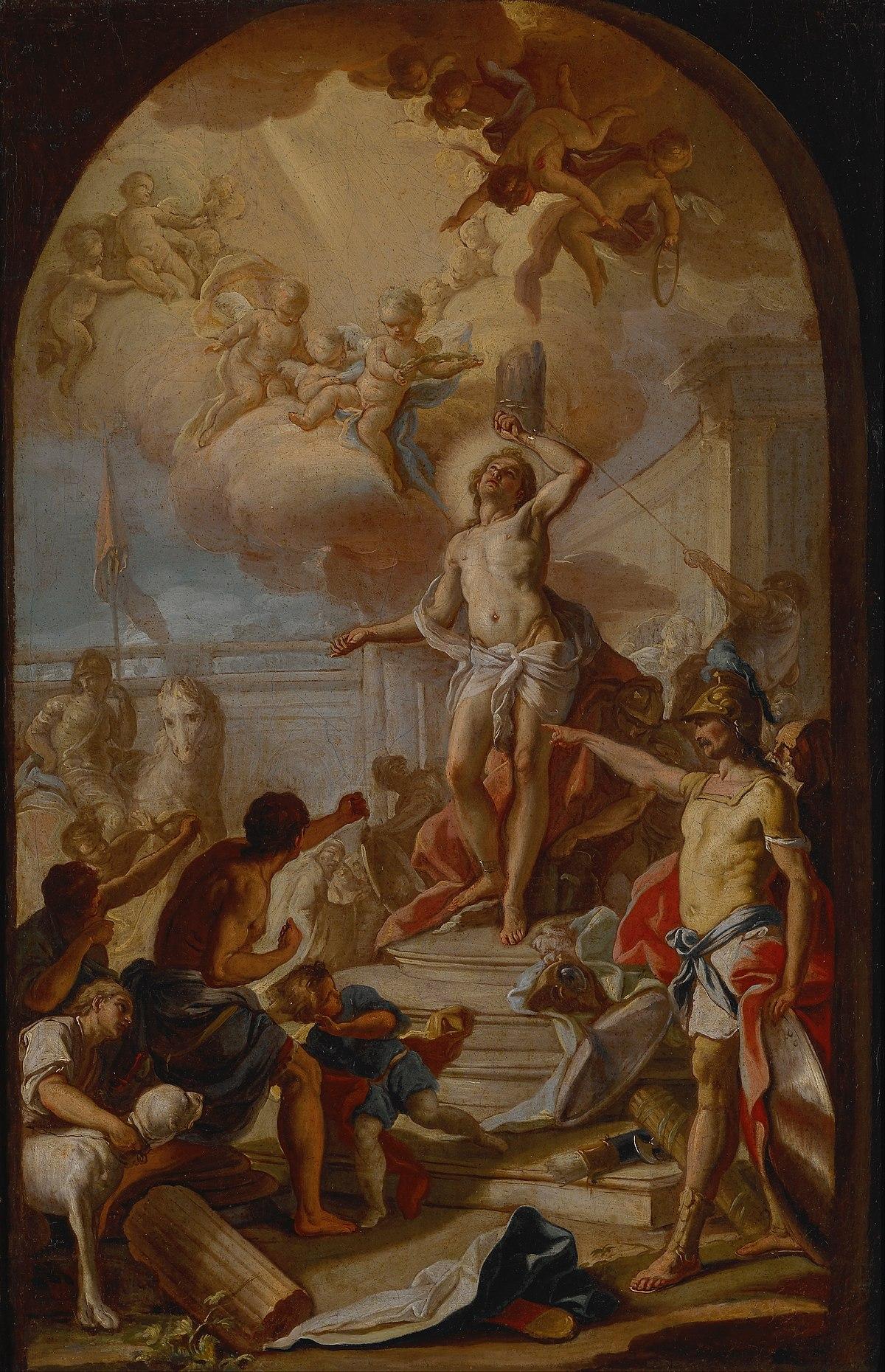 The Martyrdom Of St Sebastian Wikidata