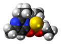 Diazinon 3D spacefill.png