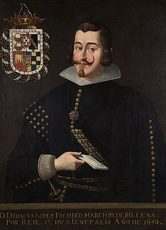 Diego López Pacheco, 7th Duke of Escalona - Diego Lopez Pacheco,Cabrera y Bobadilla
