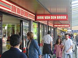 Dirk van den Broek-filiaal in Amsterdam-Osdorp