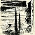 Disegno per copertina di libretto, disegno di Peter Hoffer per Goyescas (1954) - Archivio Storico Ricordi ICON012384.jpg