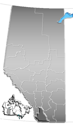 Division No. 3, Alberta Location.png