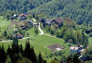 Dolgo Brdo, Ljubljana Place in Lower Carniola, Slovenia