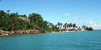 Samaná Province - Cayo Levantado Samana, an island of the Samaná Province