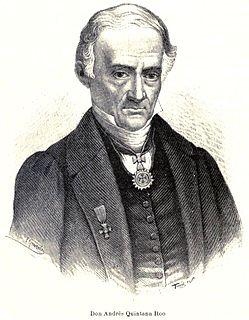 Andrés Quintana Roo Mexican politician