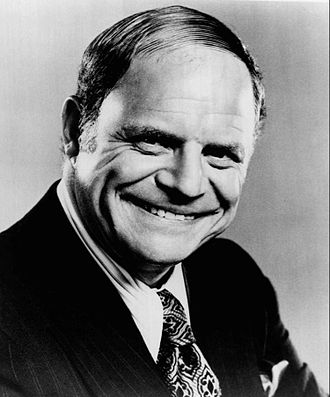Insult comedy - Publicity photo of Don Rickles, a well-regarded insult comedian, in 1973.