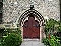 Doorway, St Anne's Roman Catholic Church, Ormskirk - geograph.org.uk - 536395.jpg
