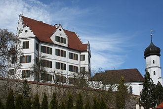 House of Oettingen-Spielberg - Image: Dornstadt Schloss Hirschbrunn 166