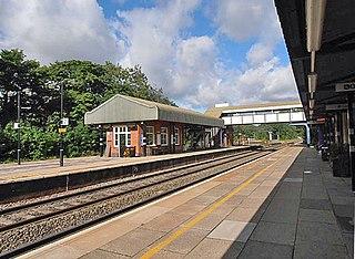 Dorridge railway station