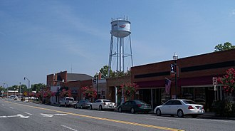 Pageland, South Carolina - Downtown Pageland, 2011