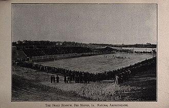 Drake Stadium (1904) - Image: Drake Stadium