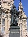 Dresden Statue Martin Luther vor Frauenkirche.JPG