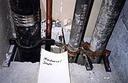 Drywall shaft damage