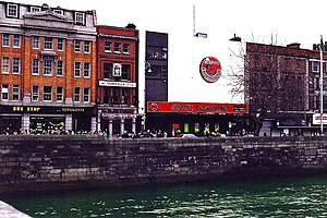 1972 and 1973 Dublin bombings - Eden Quay as it appeared in 1998