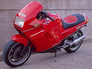 Ducati Paso - Image: Ducati 750 paso number 751090