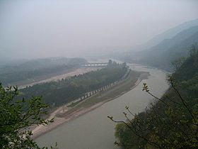 Dujiangyan irrigation system, Sichuan, China.JPG