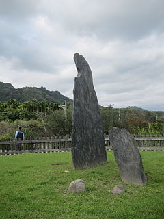 Beinan Cultural Park Archaeological site in Taitung City, Taitung County, Taiwan