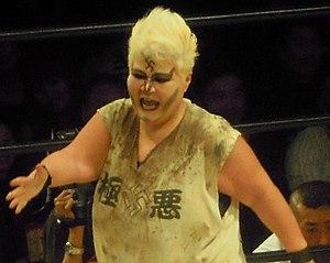 "Women's professional wrestling - Kaoru ""Danpu"" Matsumoto, one of Japan's leading pro wrestlers in the 1980s"