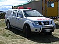 Dunedin City Council Rural Fire vehicle Mt Allan fire, NZ 2010.jpg