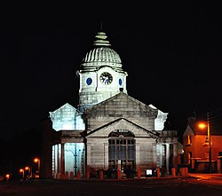 Dunlavin Market House by night