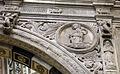 Duomo di genova, cappella di s. giovanni battista, prospetto esterno di domenico ed elia gagini, madonna annunciata.JPG