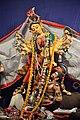 Durga - Kalighat Bayam Samity - Nepal Bhattacharya Street - Kolkata 2015-10-21 6375.JPG