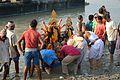 Durga Idol Immersion - Baja Kadamtala Ghat - Kolkata 2012-10-24 1629.JPG