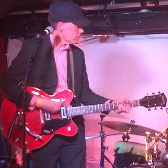 David Westlake - At the NME C86 show - London, 2014