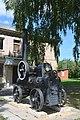 Dykanka Lenina Str. Tractor by Kherson Lokomotive Plant, Artefact of Machinery History 01 (YDS 1335).jpg