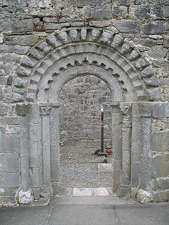 Dysart and Ruan - Doorway of St. Tola's Church