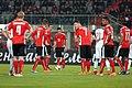 EM-Qualifikationsspiel Österreich-Russland 2014-11-15 072 Zlatko Junuzović Christian Fuchs.jpg