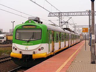 Koleje Mazowieckie - Image: EW60 001, Poznań Wschód, 2010 09 13