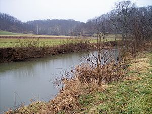 Shade River - The East Branch of the Shade River in Chester Township in 2006