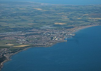 Methil - Image: East Wemyss and Methil from the air (geograph 5836521)