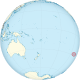 Easter Islands on the globe (Polynesia centered).svg