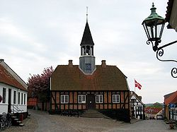The former town hall of Ebeltoft