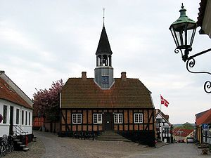 Ebeltoft - The former town hall of Ebeltoft