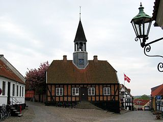 Ebeltoft Municipality former municipality in central Denmark, merged with three others in 2007
