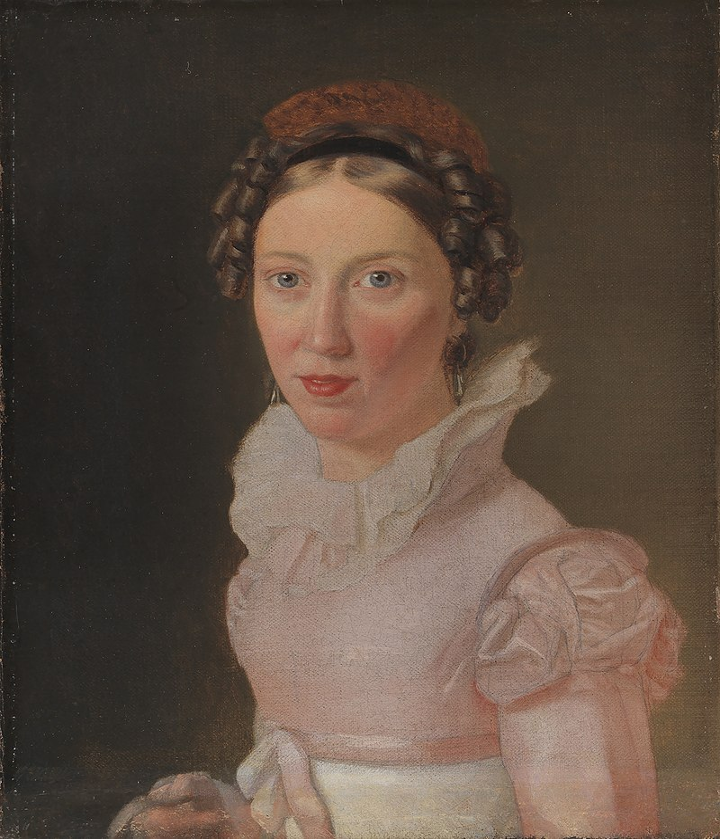 Eckersberg, CW - Suzanne Juel, kunstnerens svigerinde, senere hans tredje hustru - 1823.jpeg