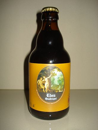 Quadrupel - Bottle of Belgian made quadrupel