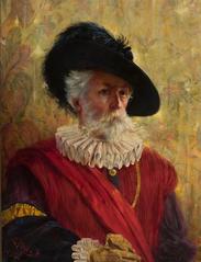 Autoportret w stroju XVII-wiecznym